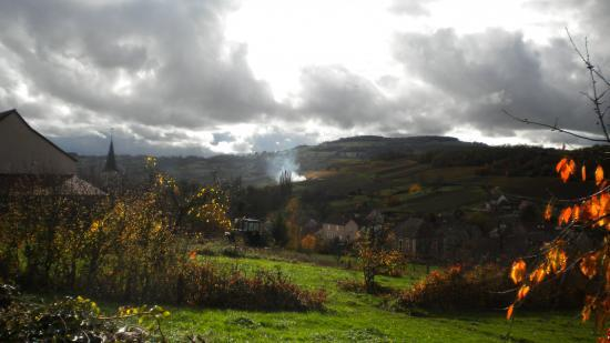 Le village en novembre
