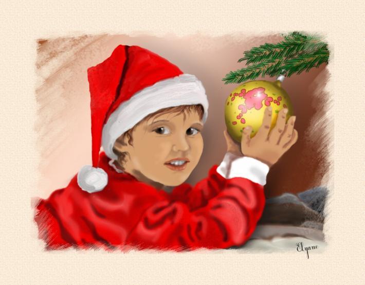 Romain et la boule de Noël